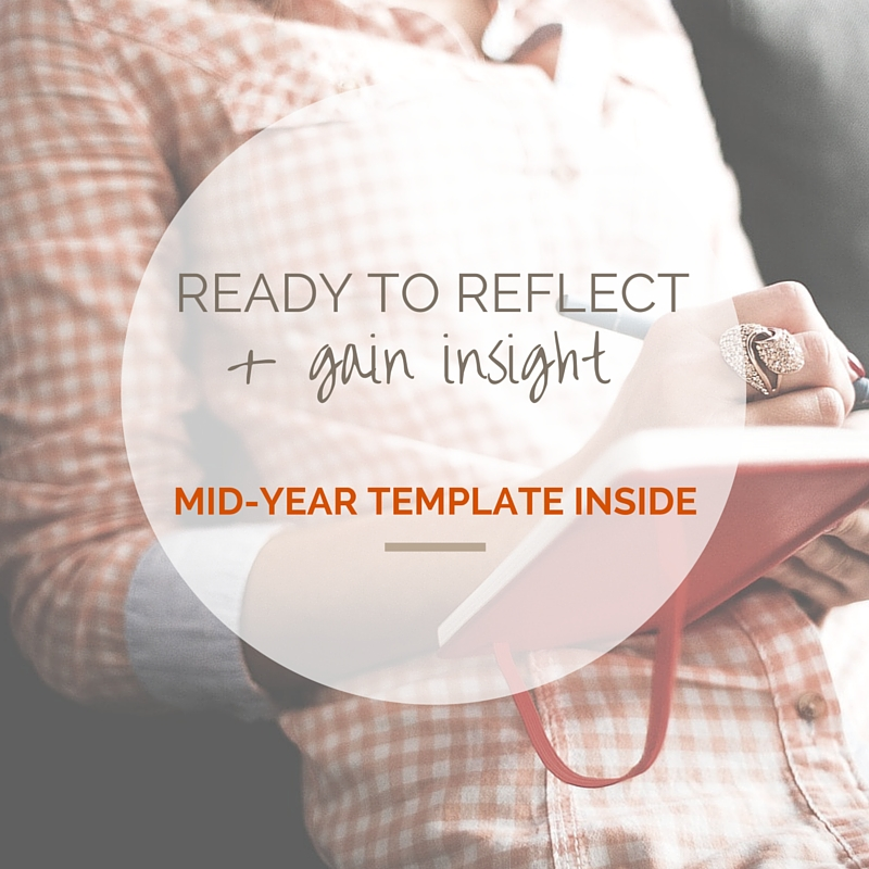 Ready to reflect + gain insight from the year so far? {LOVE THIS MID ...