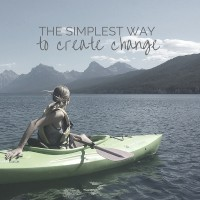 the simplest way to create change.2