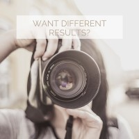 want different results-