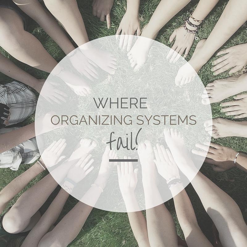 where organizing